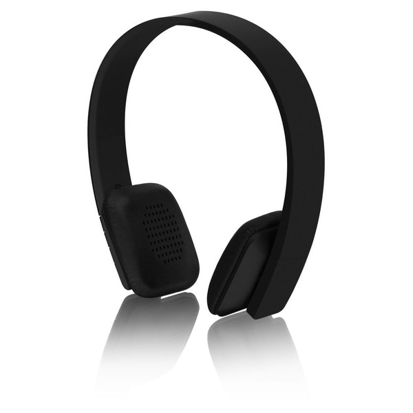 Aluratek Bluetooth Wireless Headphones - Retail Packaging - Black