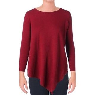 Joie Womens Asymmetric Long Sleeves Pullover Sweater