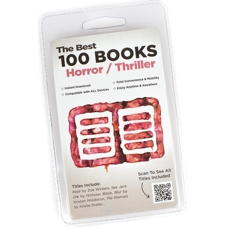 100 Horror/Thriller Book Collection - Instant Library