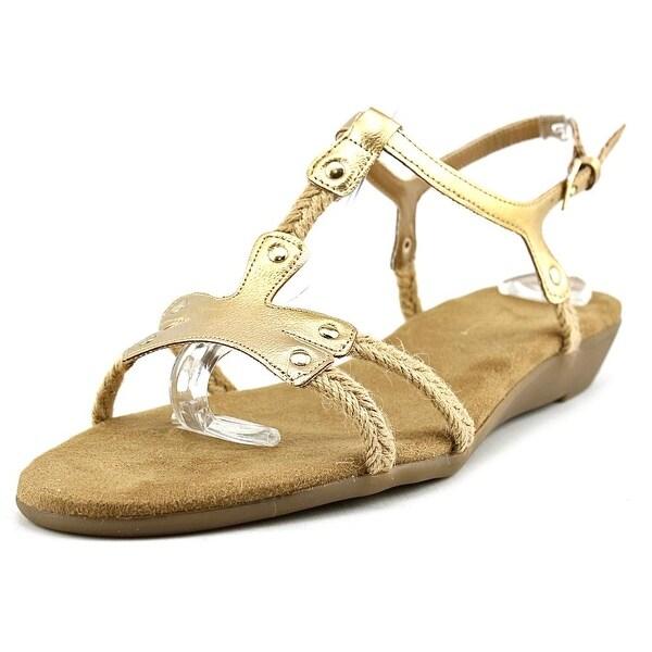 Aerosoles Back Atcha Women Gold Sandals