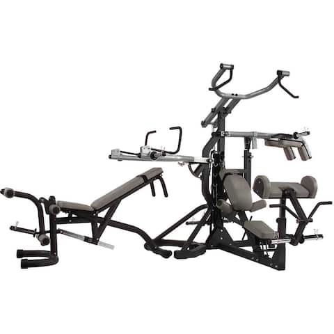 Body-Solid Freeweight Leverage Commercial Gym Package - Black