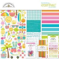 "Doodlebug Essentials Page Kit 12""X12""-Sweet Summer"