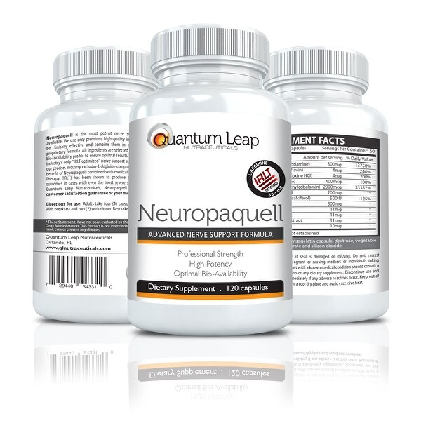 Quantum Leap NEUROPAQUELL - Clinical Strength Neuropathy Pain Relief - Advanced Nerve Support Formula