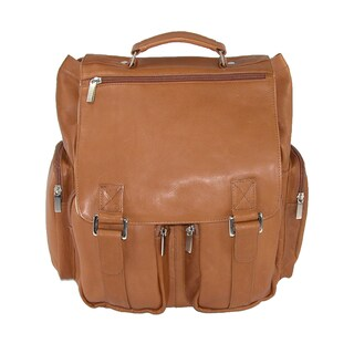 Iris Tyler JACKSON Leather Laptop Backpack