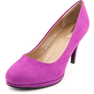Style & Co Nikolete Women Round Toe Synthetic Purple Heels