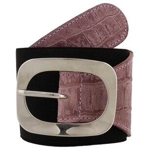 Renato Balestra Allesandra Leather Womens Belt (Option: Beige - 27 - L (33 - 36) Inches)