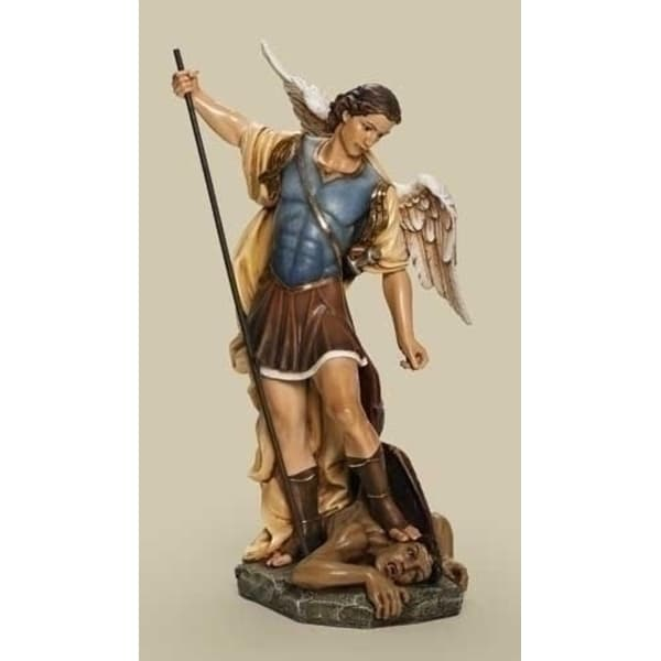 """26.5"""" Joseph's Studio Renaissance Religious Saint Michael the Archangel Statue - N/A"""