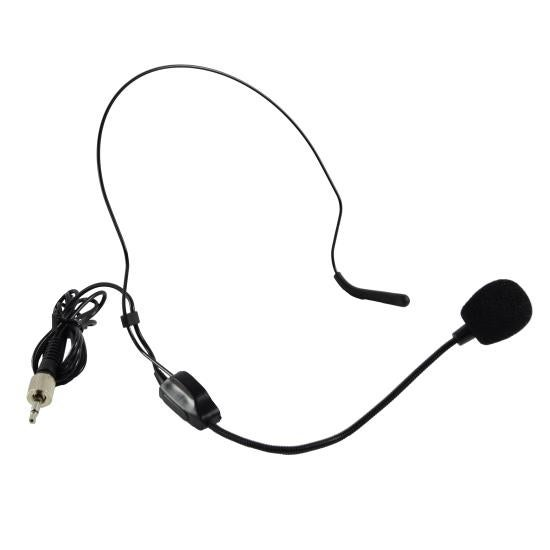 Replacement Headset Microphone, Sennheiser Locking Screw Type Connector (Works with Pyle 'PDWM' Series Models)
