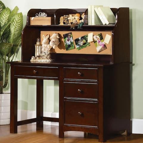 Furniture of America Romeo Transitional 4-drawer Desk