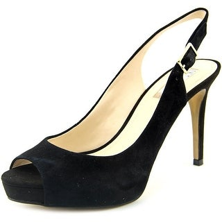 INC International Concepts Gilas Women Peep-Toe Synthetic Slingback Heel