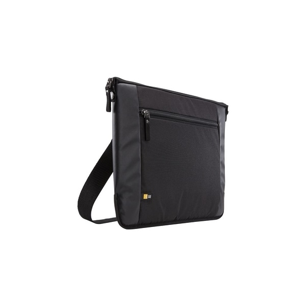 "Case Logic INT115BLACK Case Logic Intrata INT-115 Carrying Case (Attaché) for 16"" Notebook, Accessories, Cable, Cellular"