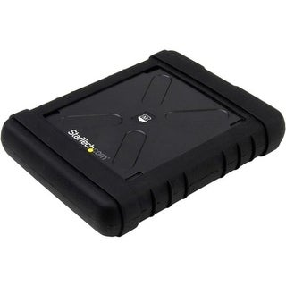 """""""StarTech S251BRU33 StarTech.com Rugged Hard Drive Enclosure - USB 3.0 to 2.5in SATA 6Gbps HDD or SSD - UASP - 1 x Total Bay - 1"""