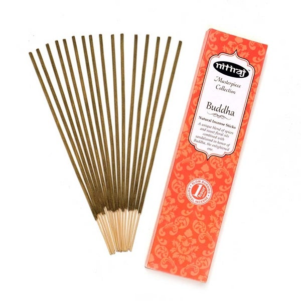 Nitiraj Masterpiece Collection Incense 2-Pack 25gm 1 Hour per Stick