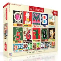 Numbers 48 Piece Puzzle, More Puzzles by New York Puzzle Company
