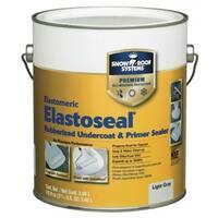 Snow Roof ES-1 Elasto-Seal Rubber Undercoat & Primer Sealer, Gray, 0.9 Gallon
