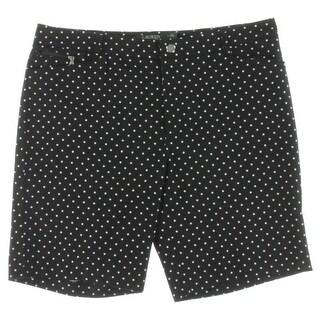 Lauren Ralph Lauren Womens Shorts Polka Dot Active - 14