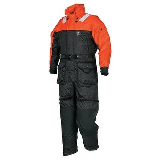 Mustang deluxe anti-exposure  coverall & worksuit m or/bk