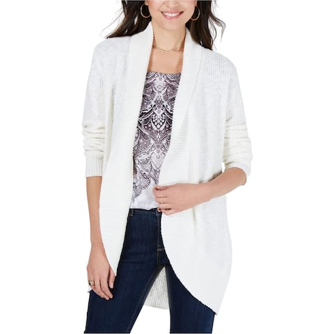 Style & Co. Womens Shawl Lapel Cardigan Sweater