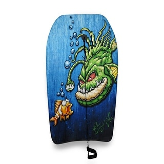 37 in. Chomper Drew Brophy Art Body Board
