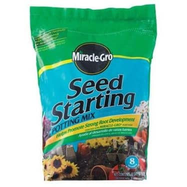 Miracle Gro 75078500 Seed Starting Potting Mix, 8 Quart