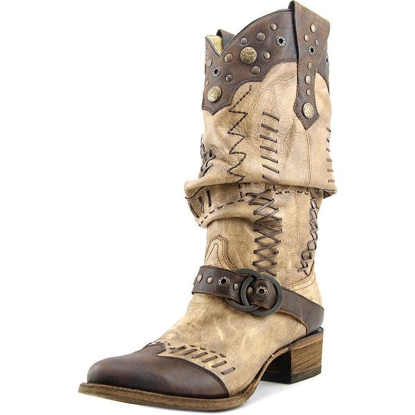 Corral A3141 Round Toe Leather Western Boot