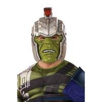 Thor: Ragnarok Hulk Warrior Helmet Adult Costume Accessory - Green