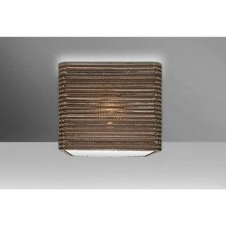"""Besa Lighting KIRK12C-LED Kirk Single Light 12"""" Wide LED Semi-Flush Ceiling Fixt"""