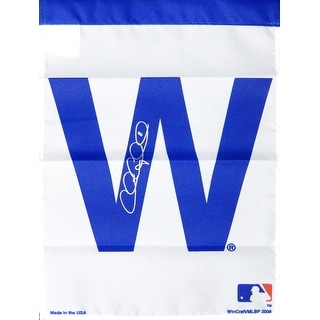 Chris Coghlan Chicago Cubs 11x15 White W Garden Flag