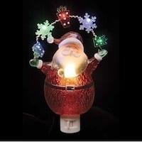 Santa with Garland Night Light