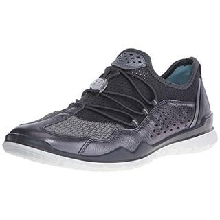 ECCO Womens Lynx Mesh Leather Trim Fashion Sneakers - 41 (medium b,m)