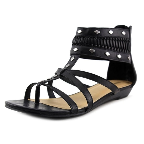 Nine West Chatterbox Open Toe Synthetic Gladiator Sandal