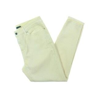 Lauren Ralph Lauren Womens Skinny Jeans Denim Shimmer - 12