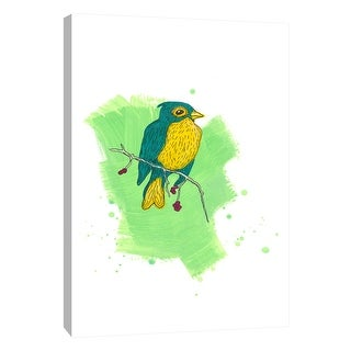 """PTM Images 9-105242  PTM Canvas Collection 10"""" x 8"""" - """"Bird Study 2"""" Giclee Birds Art Print on Canvas"""