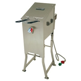 Bayou Classic 700-701 4 Gallon Deep Fryer - Stainless Steel