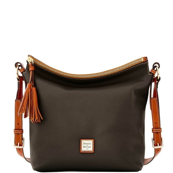 Dooney & Bourke Pebble Grain Small Dixon (Introduced by Dooney & Bourke at $248 in Jul 2016) - Chocolate