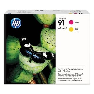 """""""HP 91 Printhead Ink Cartridge Value Pack Ink Cartridge"""""""