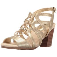 Easy Street Womens admire Open Toe Casual Strappy Sandals