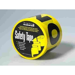 """CH Hanson 15011 Barricade Tape, 3"""" x 200'"""