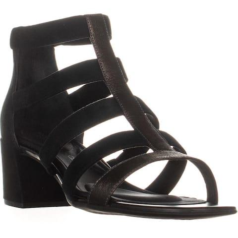Rockport Total Motion Alaina Caged Sandals, Black - 9 US / 40 EU