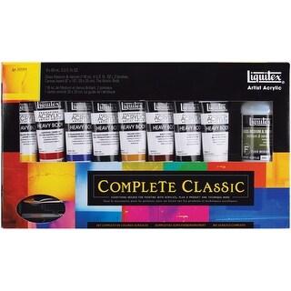 Liquitex Heavy Body Acrylic Paint Set-Complete Classic