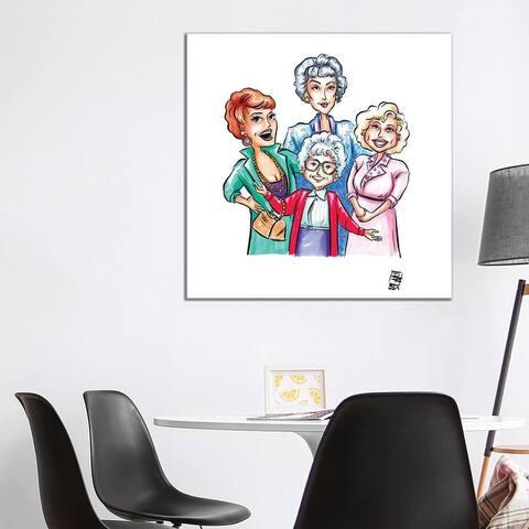 "iCanvas ""Golden Girls"" by Billi French Canvas Print"