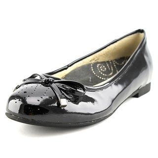 Propet Emma Round Toe Patent Leather Flats