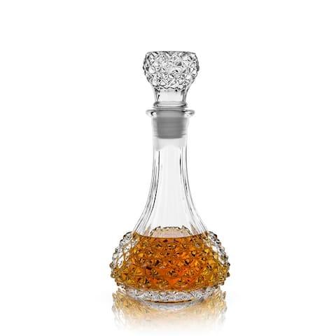 "Studded Glass Decanter by Viski - 10.75"" x 5"""