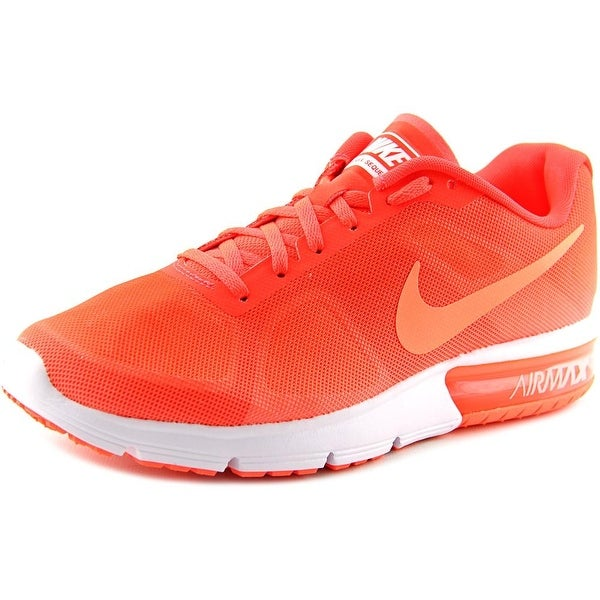 Nike Air Max Sequent Round Toe Synthetic Running Shoe