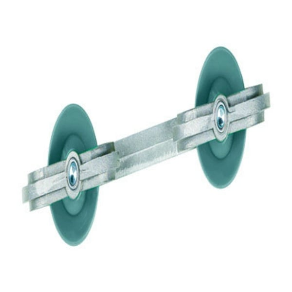 Ben-Mor 90119CT Metal Spacer With Plastic Wheels, 7""