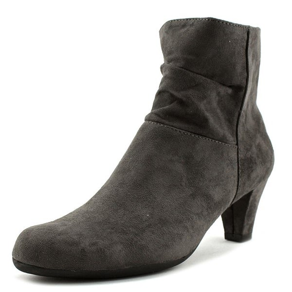 Aerosoles Shore Fit Women Round Toe Synthetic Gray Ankle Boot