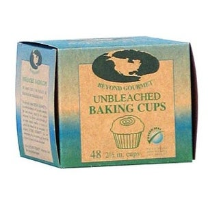 Beyond Gourmet 048 Unbleached Large Baking Cup, Box of 48