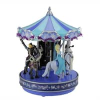 Mr. Christmas Disney Frozen Animated Musical Carousel Decoration #11851 - BLue