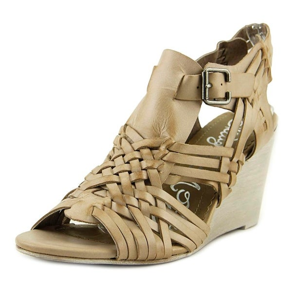 Naughty Monkey Dually Noted Nude Sandals
