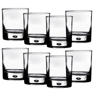 Home Essentials Red Series 10 oz. Bubble-Bottomed Round Cut Drinking Glasses - Set of 8|https://ak1.ostkcdn.com/images/products/is/images/direct/16cceed024755b19ff0d9fa73ef78d27ba3e9ee3/Home-Essentials-Red-Series-10-Oz.-Bubble-Bottomed-Round-Cut-Drinking-Glasses---Set-Of-8.jpg?impolicy=medium